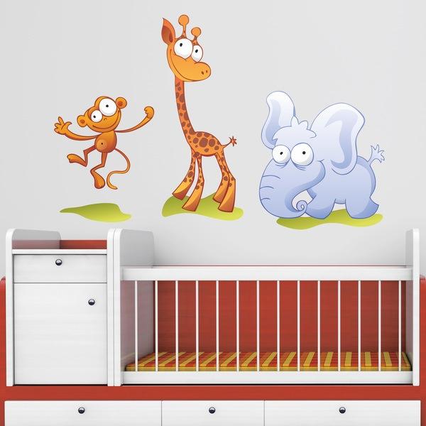 Vinilos Infantiles: Zoo 2