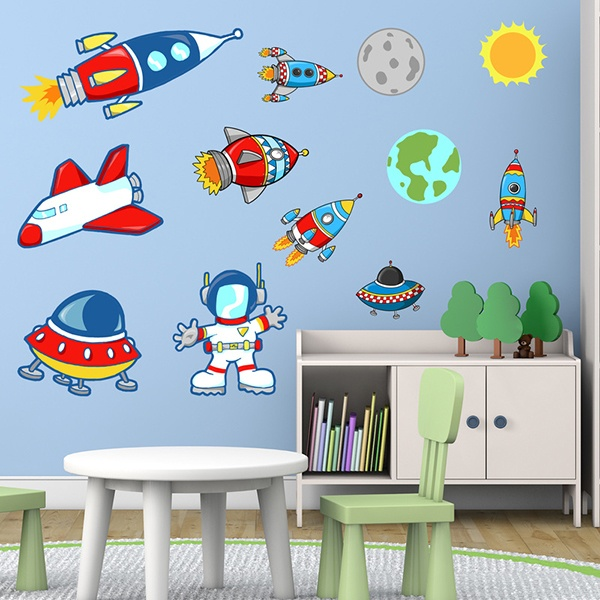 Vinilos Infantiles: Space