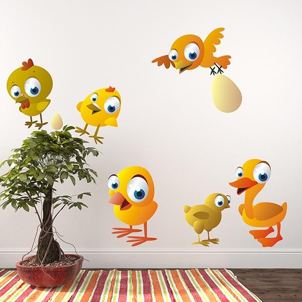 Vinilos Infantiles: Aves 3