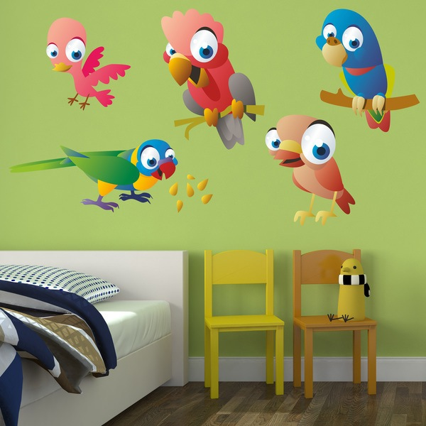 Vinilos Infantiles: Aves 5