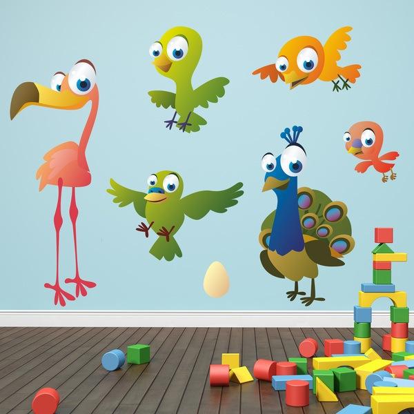 Vinilos Infantiles: Aves 7