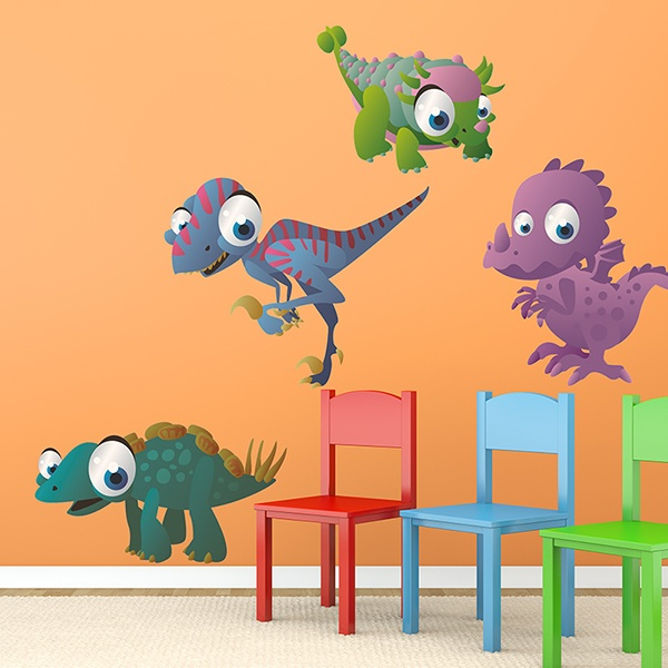 Vinilos Infantiles: Dinosaurios 1