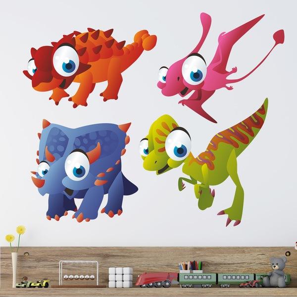 Vinilos Infantiles: Dinosaurios 3
