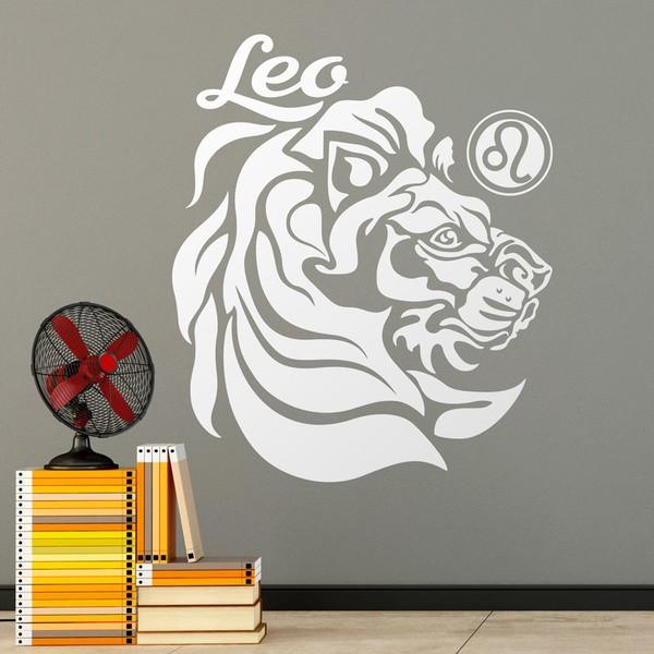 Vinilos Decorativos: Leo