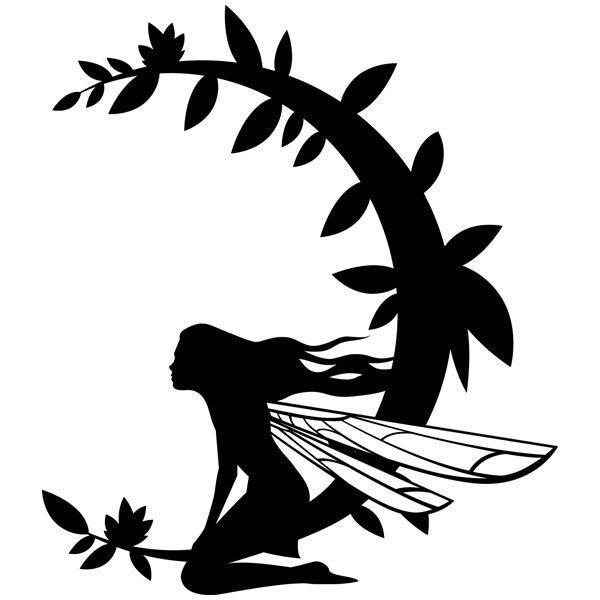 Vinilos Decorativos: Luna Hada