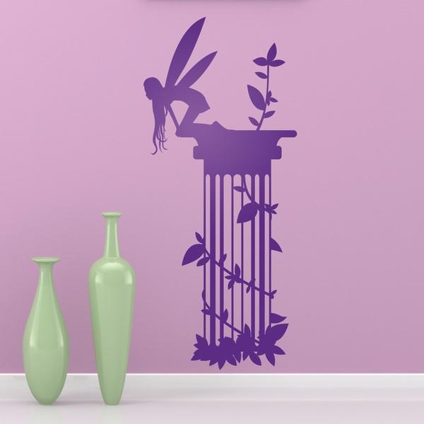 Vinilos Decorativos: Hada Columna