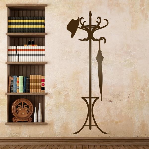 Vinilos Decorativos: Perchero classic