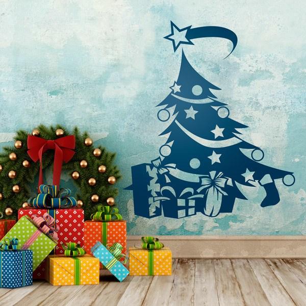 Vinilos Decorativos: Arbol Navidad