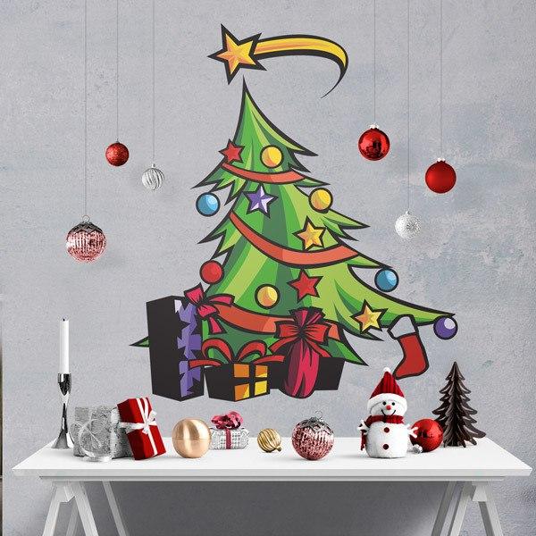 Vinilos Decorativos: Christmas tree