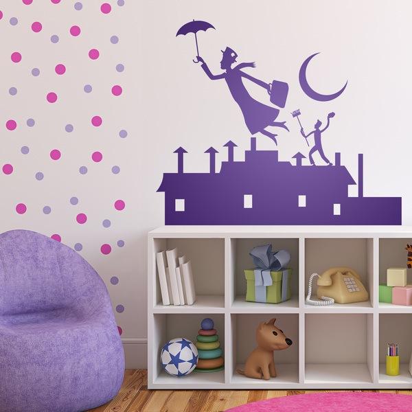 Vinilos Infantiles: Poppins