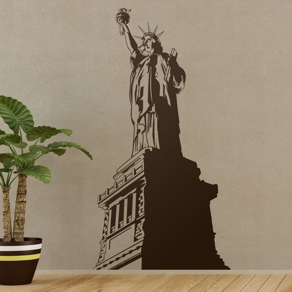 Vinilos Decorativos: La Estatua de la Libertad