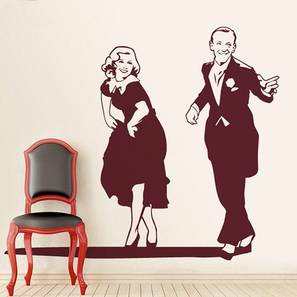 Vinilos Decorativos: pareja de baile