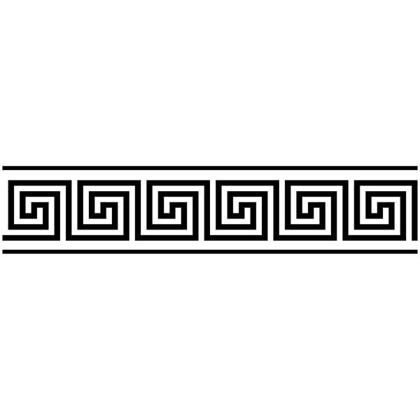 Vinilos Decorativos: Cenefa Griega