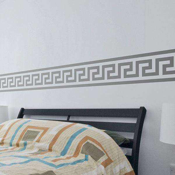 Vinilos Decorativos: Cenefa Griega Espiral
