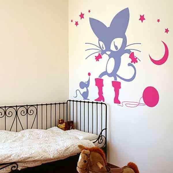 Vinilos Decorativos: El gato con botas