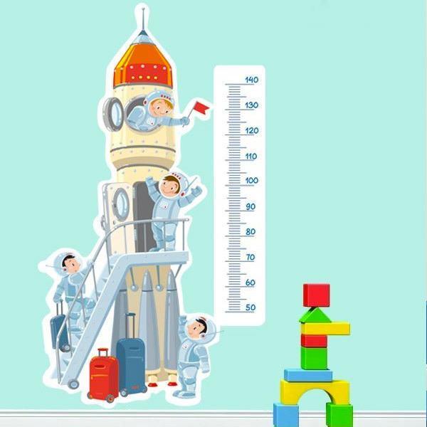 Vinilos Infantiles: Cohete al espacio