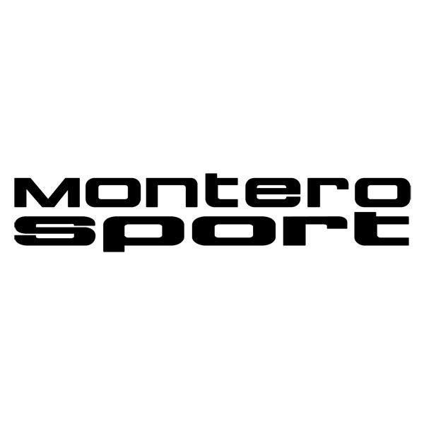 Pegatinas: Montero Sport