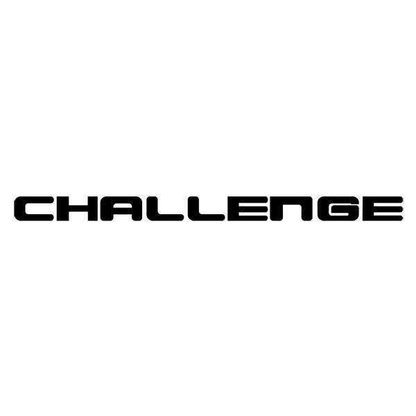Pegatinas: Challenge
