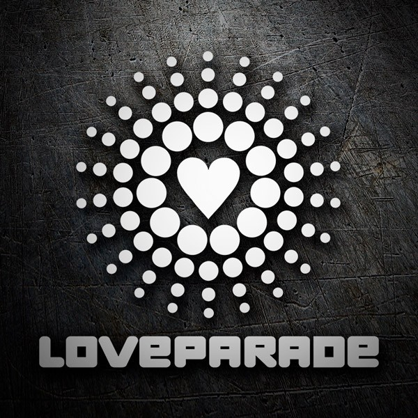 Pegatinas: Love Parade
