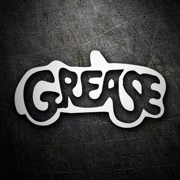 Pegatinas: Grease