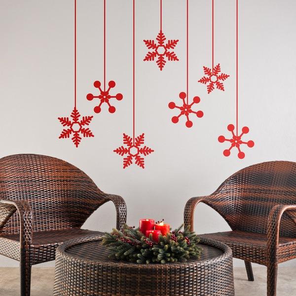 Estrellas de invierno - Ideas para decorar estrellas de navidad ...