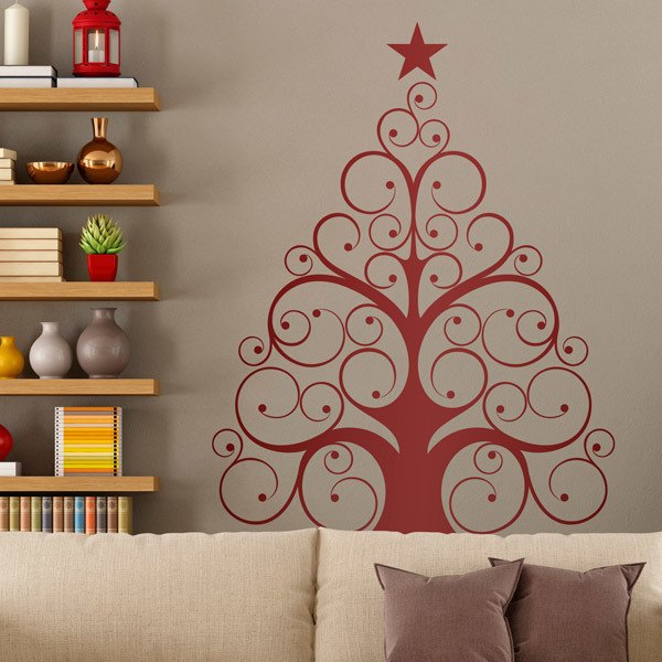 Modern arbol - Vinilos decorativos arboles ...