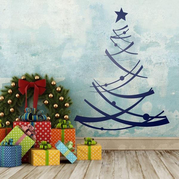 Vinilos Decorativos: arbol de navidad 2