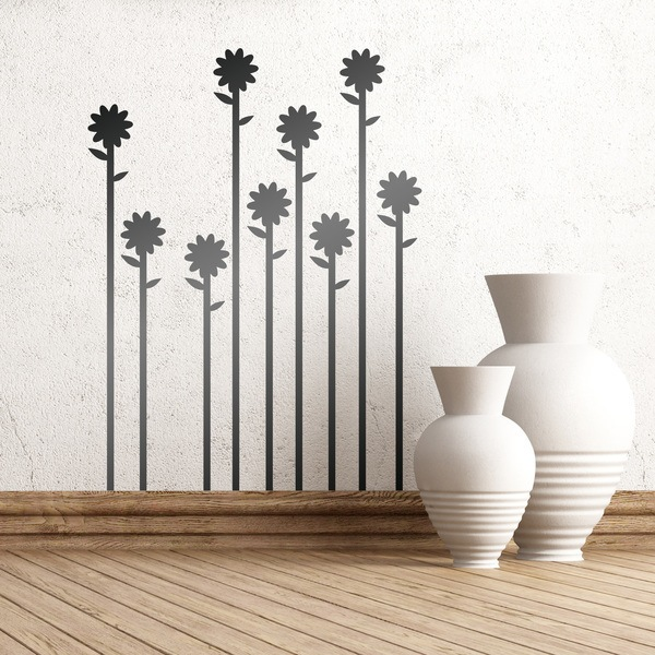 Vinilos Decorativos: Serie de girasoles