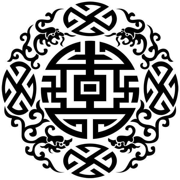 Vinilos de tem tica zen buda flores de loto simbolos - Vinilos decorativos zen ...