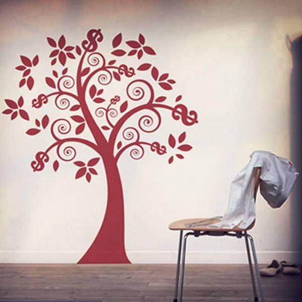 Vinilos Decorativos: El árbol del dinero
