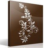 Vinilos Decorativos: Floral Tarai