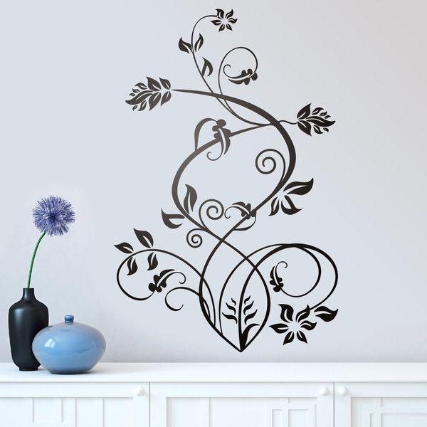 Vinilos Decorativos: Floral Sura