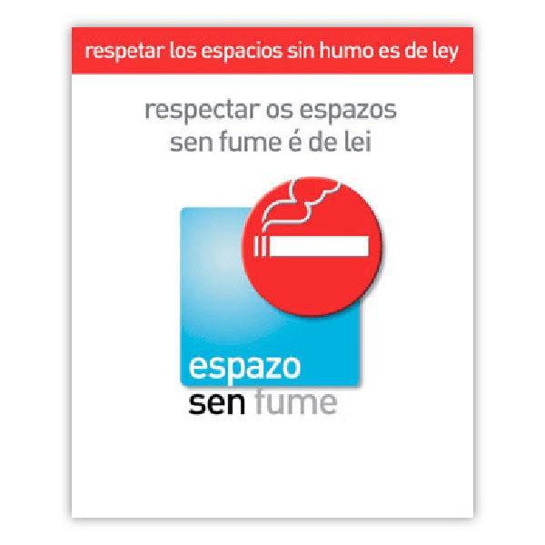 Pegatinas: Sin Humo (Gallego)