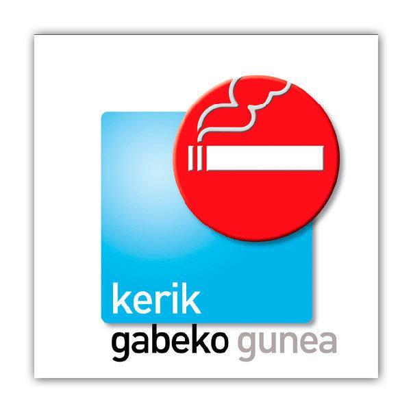 Pegatinas: sin humo 5
