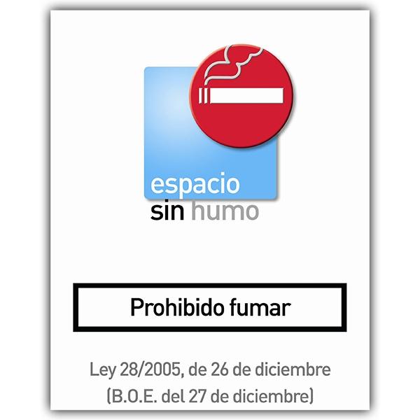Pegatinas: sin humo 8