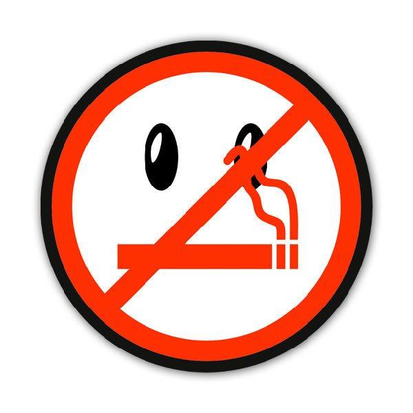 Pegatinas: No fumar 5