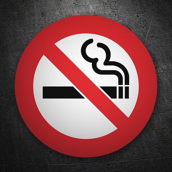 Pegatinas: No fumar 6