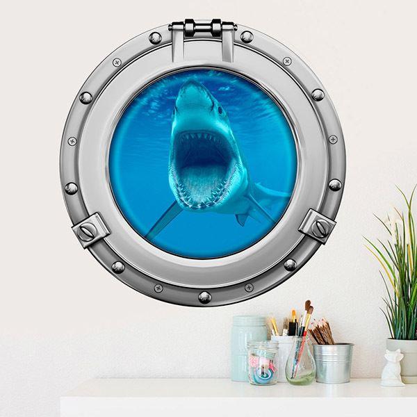 Vinilos Decorativos: Tiburón