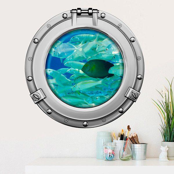 Vinilos Decorativos: Banco de peces 2