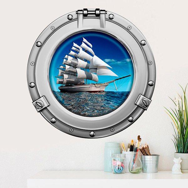 Vinilos Decorativos: Barco velero 1