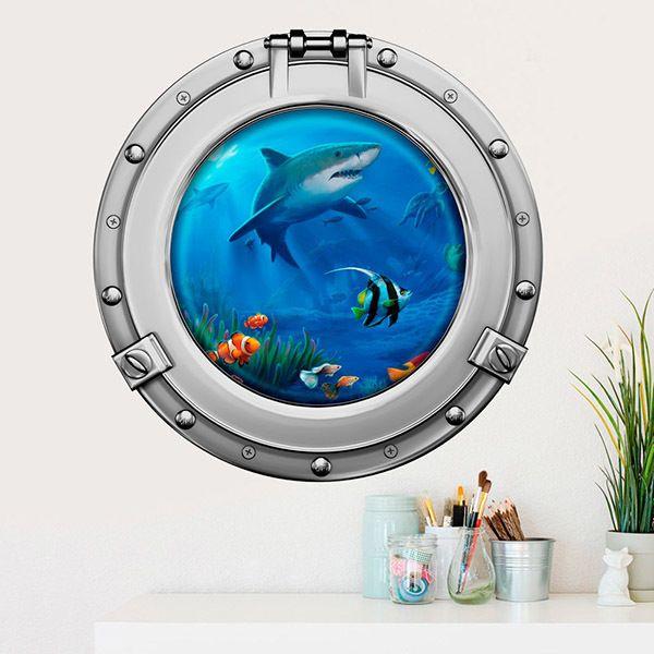 Vinilos Decorativos: Tiburones y peces