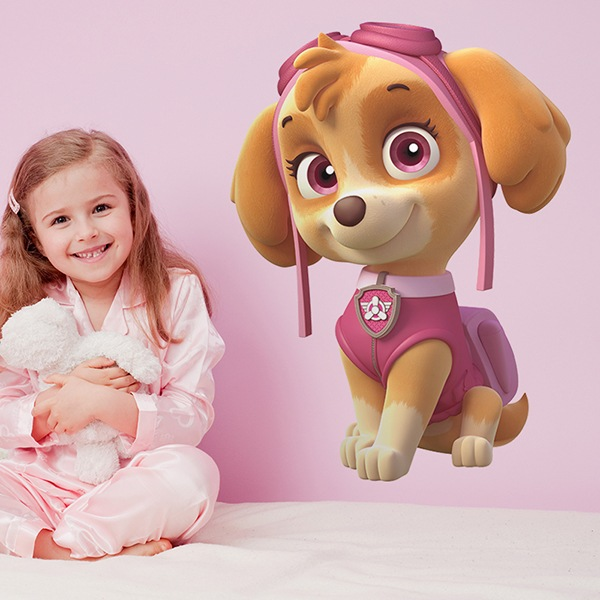 Vinilos Infantiles: Patrulla Canina - Skye