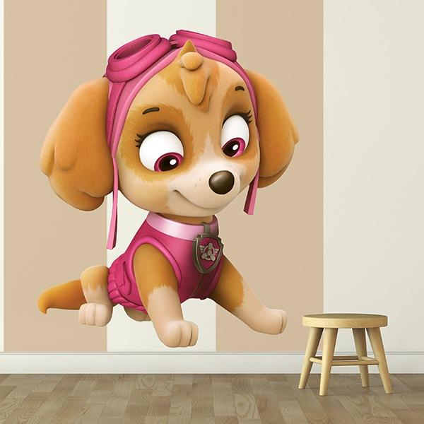Vinilos Infantiles: Patrulla Canina - Skye 2