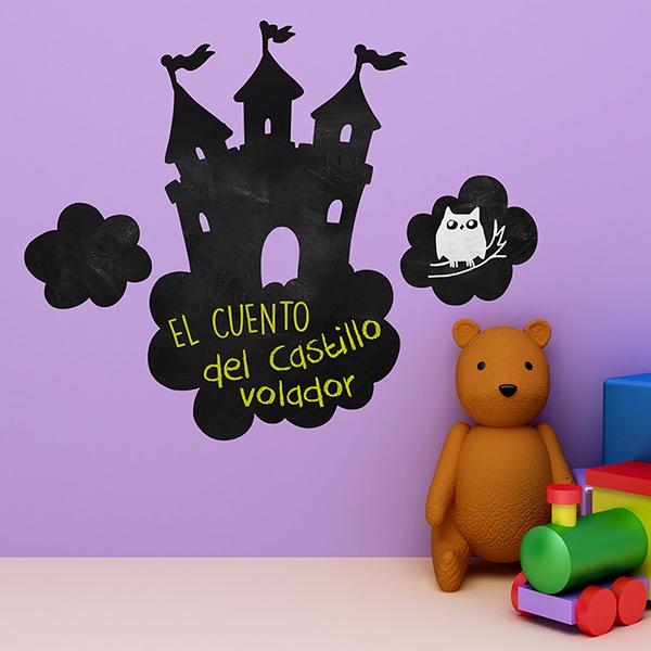 Vinilos Infantiles: Castillo en las nubes