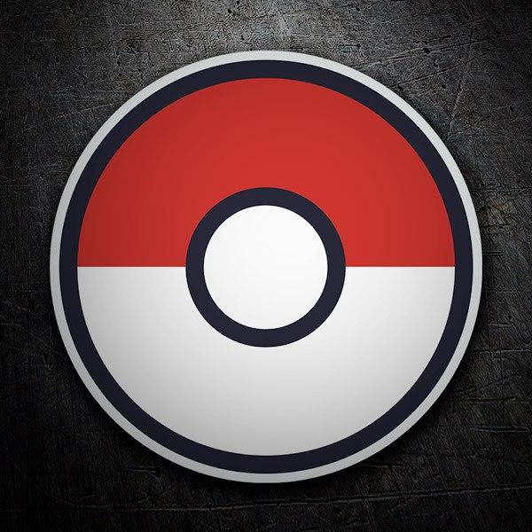 Vinilos Decorativos: Pokeball - Pokémon Go