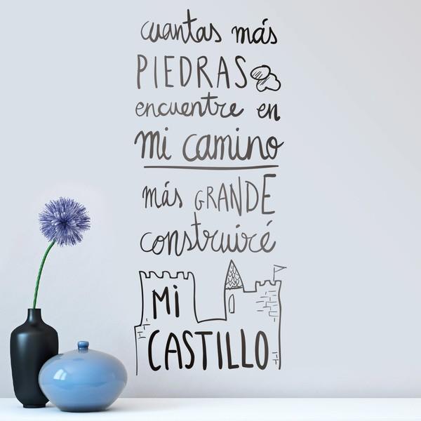 Vinilos Infantiles: Construiré mi Castillo