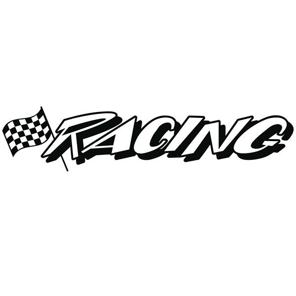 Pegatinas: racing3
