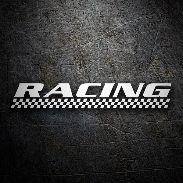Pegatinas: racing5