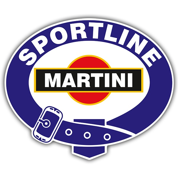 Pegatinas: Martini sportline