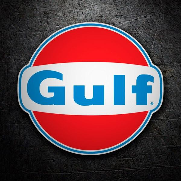 Pegatinas: Gulf